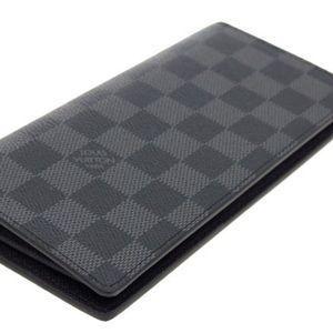 Louis Vuitton Brazza Wallet - Black Graphite